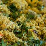 Spiced Quinoa Pilaf