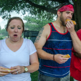 Flea Market 2015 Hot Dog Eating Contest