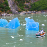 Tilt-shifted in Tracy Arm
