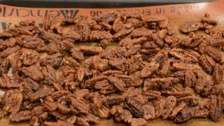 Crock-pot Candied Pecans